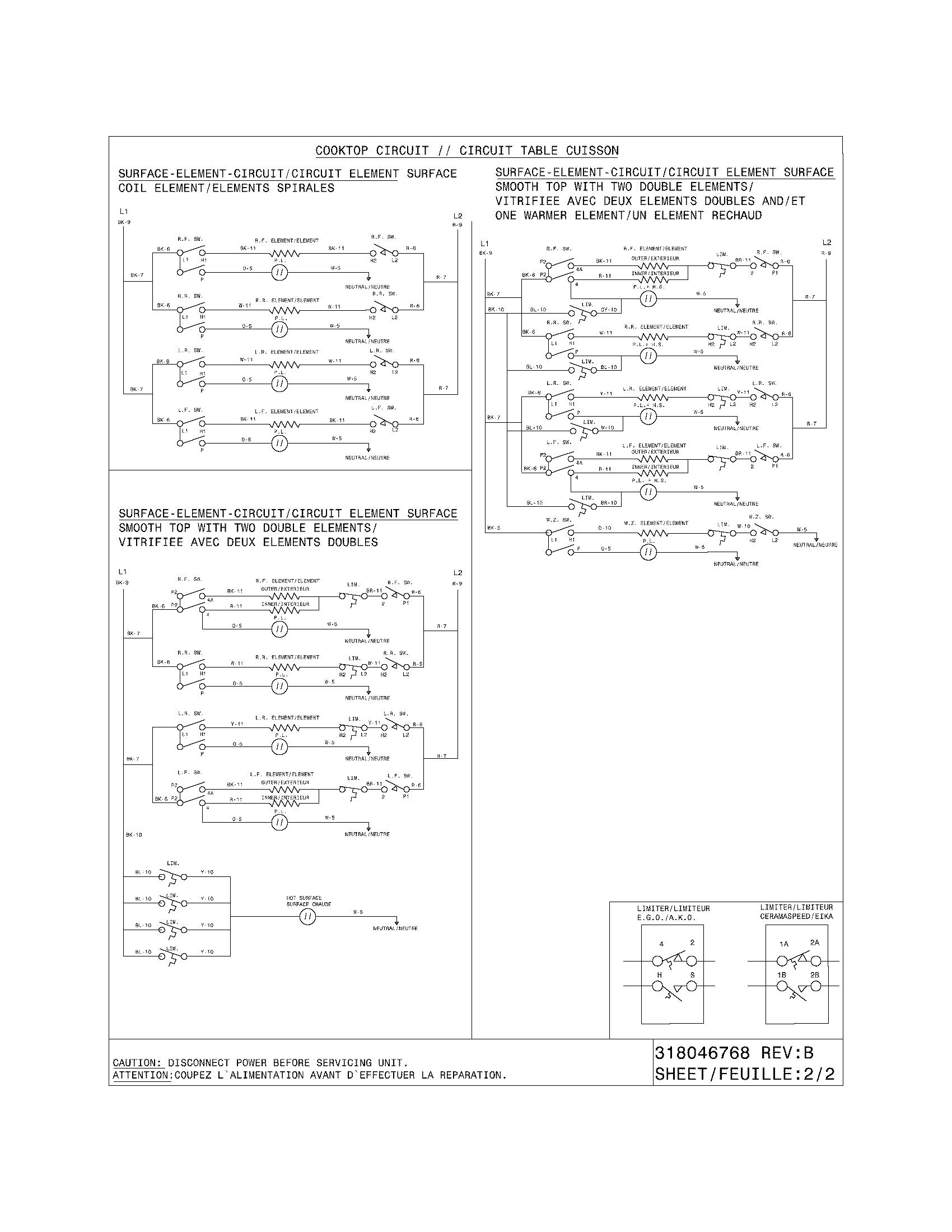 Frigidaire Pglef365ec1 Electric Range Timer