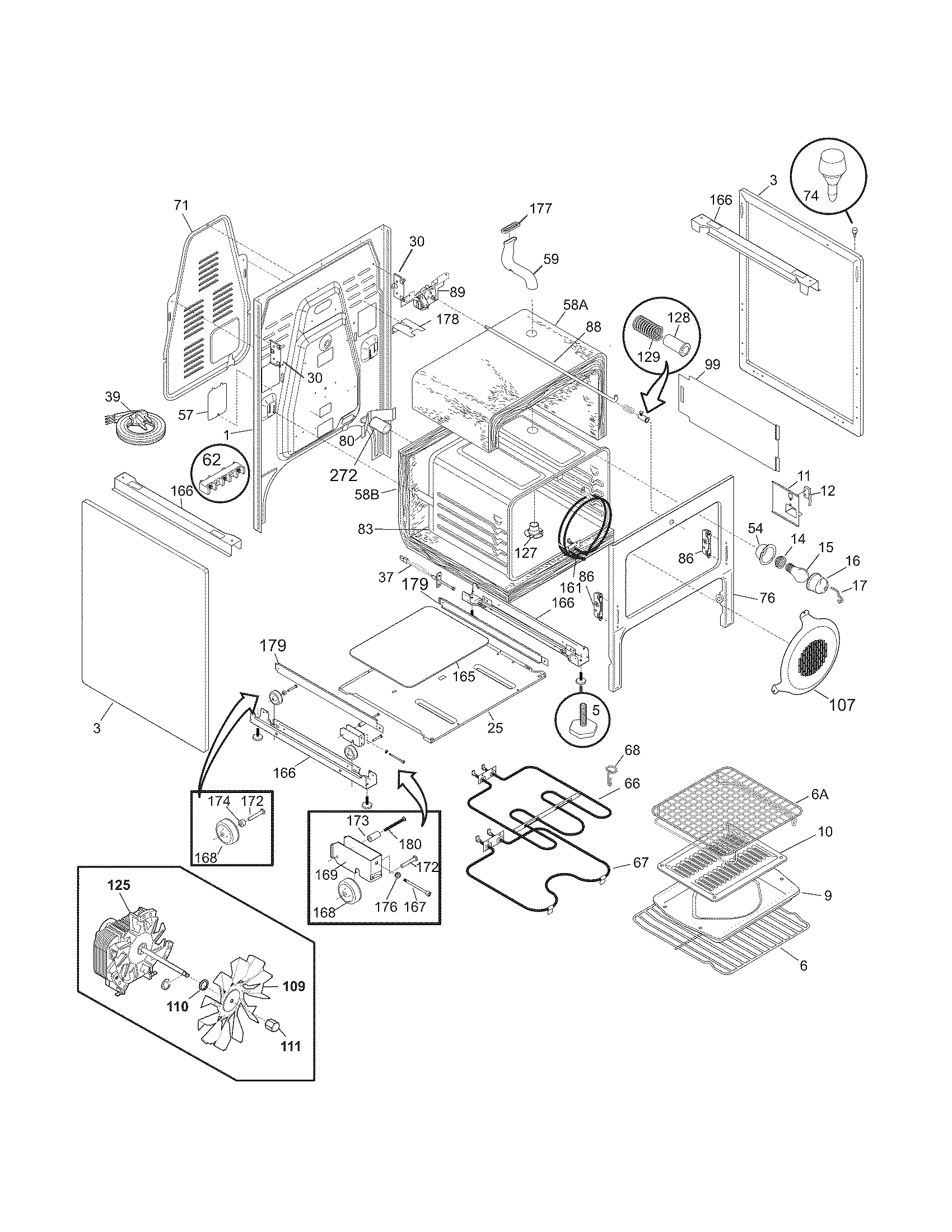 Electrolux Pglef385cs1 Electric Range Timer Stove Clocks And Washing Machine Wiring Diagram Body Parts