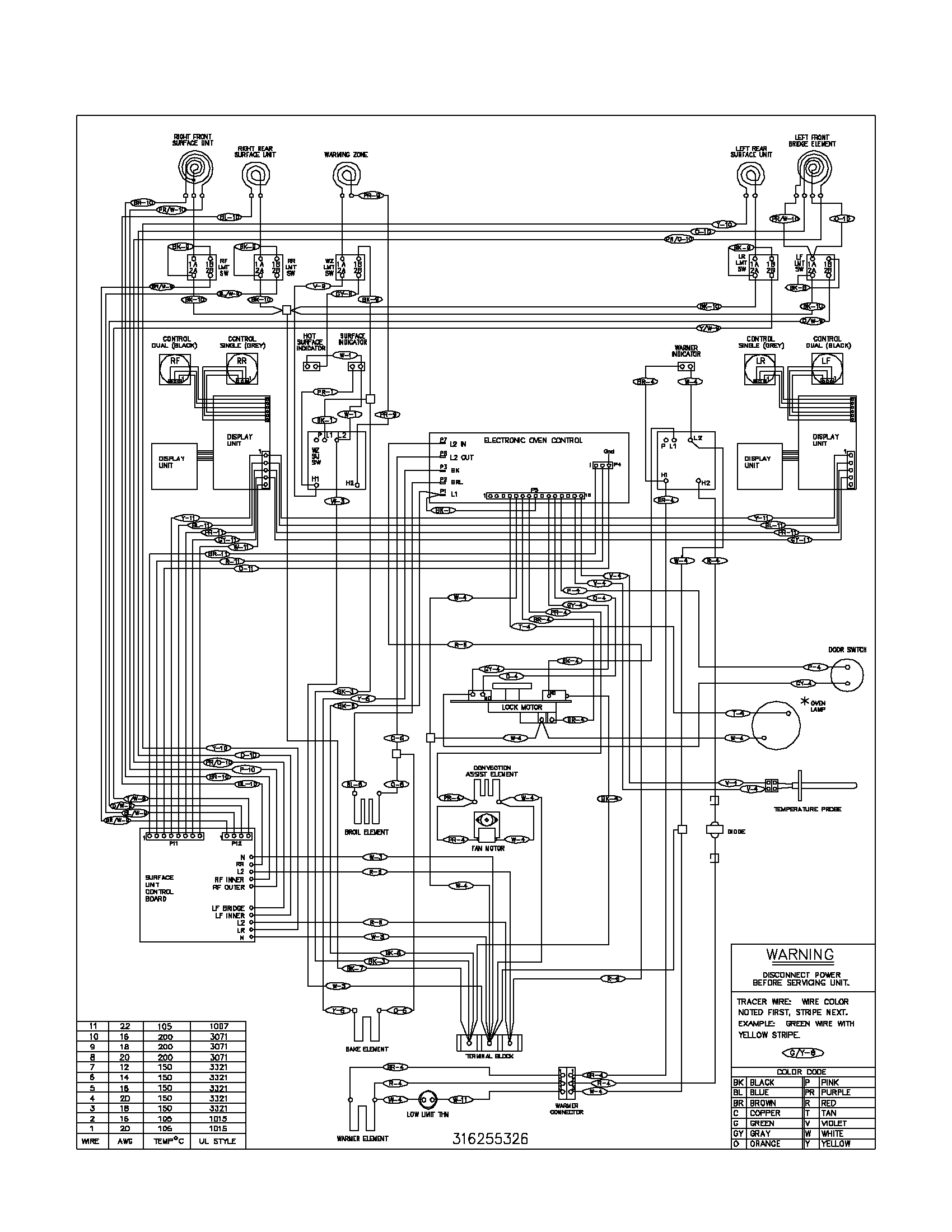 Electric Stove Wiring Diagram 29 Images Schematic Parts Frigidaire Washer At