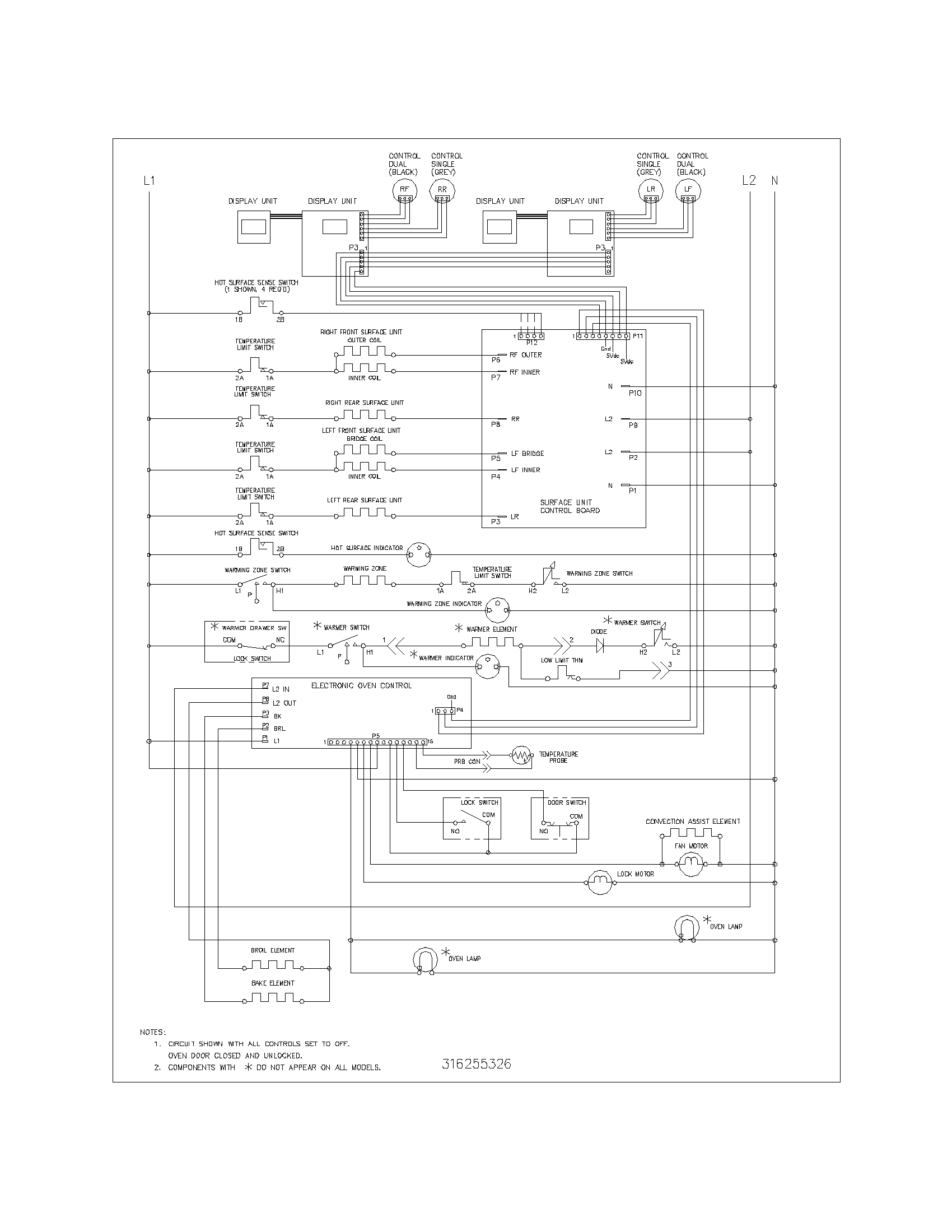 wiring schematic parts frigidaire plef398ccd electric range timer stove clocks and imperial convection oven wiring diagram at eliteediting.co