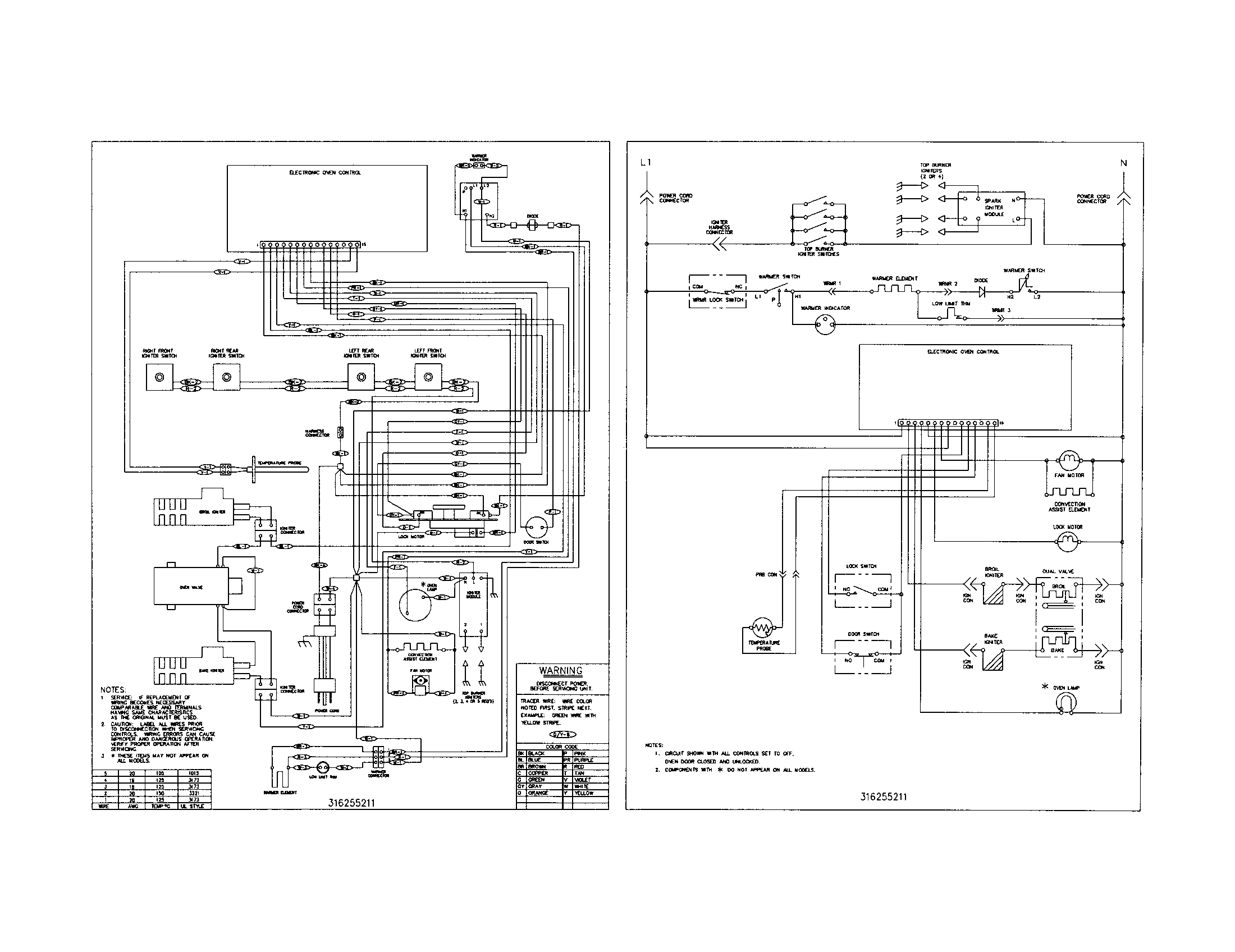 Frigidaire Wiring Schematic - Wiring Diagram G11 on