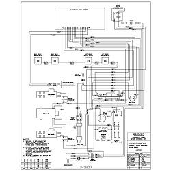 PLGF389CCB Gas Range Wiring diagram Parts diagram