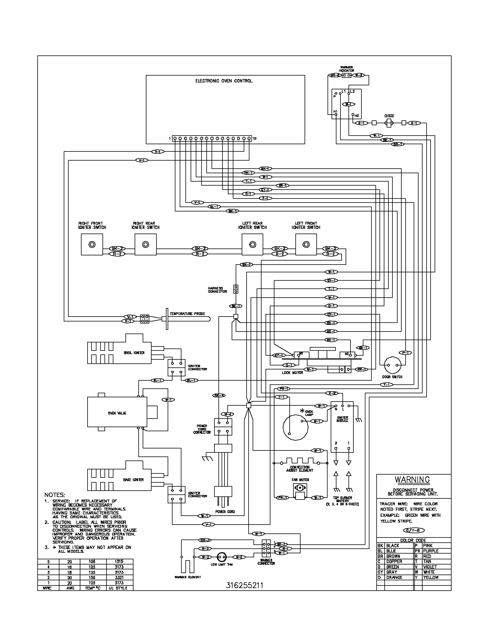 wiring diagram parts frigidaire gallery refrigerator wiring diagram frigidaire wiring  at mifinder.co