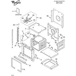 RBS245PDQ12 Electric Oven Oven/literature Parts diagram
