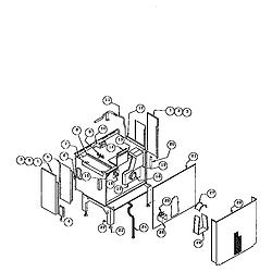RDDS30 Range Drop-in Parts diagram