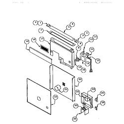 RDDS30VRS Range Snorkel assembly Parts diagram
