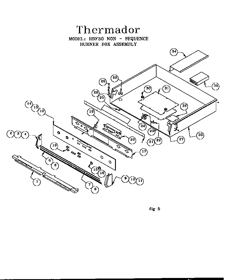 Thermador Range Wiring Diagram