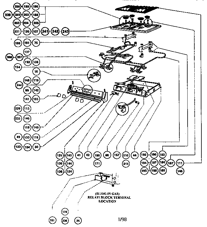 wiring diagram for stove burner   31 wiring diagram images