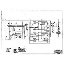 RED30V Drop-In Electric Range Schematic Parts diagram