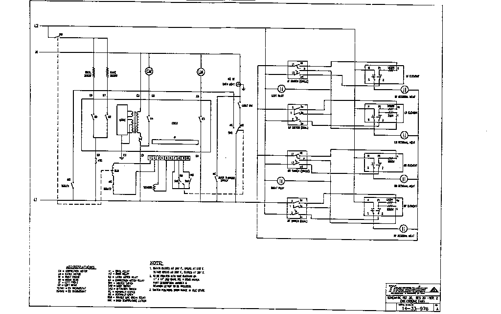 wiring diagram for ge electric burners thermador ref30qw freestanding electric range timer ... #6
