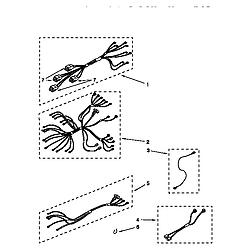 "RF375PXDQ0 30"" Electric Range WHIRLPOOL 30 diagram"