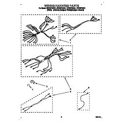"RF376PXDQ1 30"" Free Standing Range WHIRLPOOL 30 diagram"