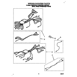 "RF386PXDB0 30"" Electric Range/Self-cleaning cooktop WHIRLPOOL 30 diagram"