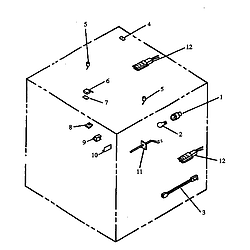 RSK3700UWW Gas Range Electric components Parts diagram