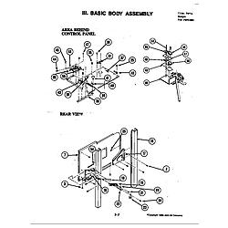 S120 Range Internal controls Parts diagram