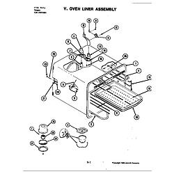 S120 Range Oven Parts diagram