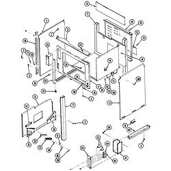 S136C Range Body Parts diagram