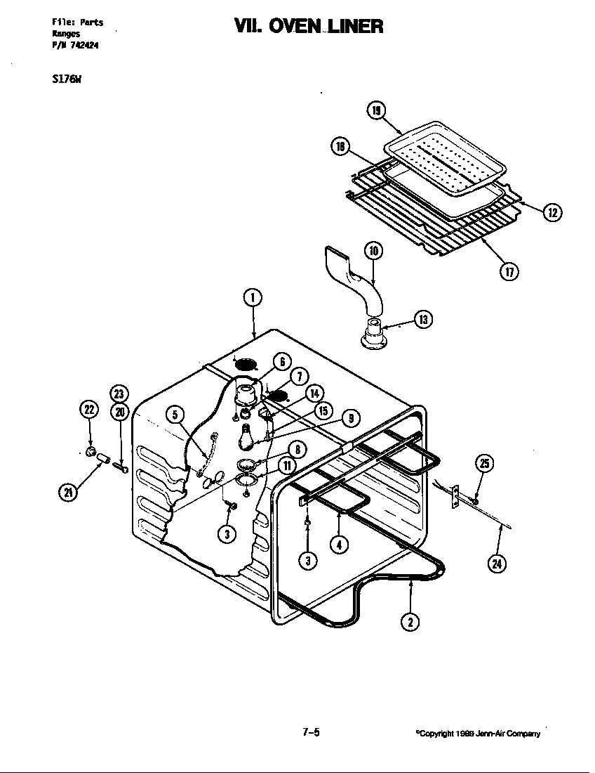 Obsolete Oven Parts