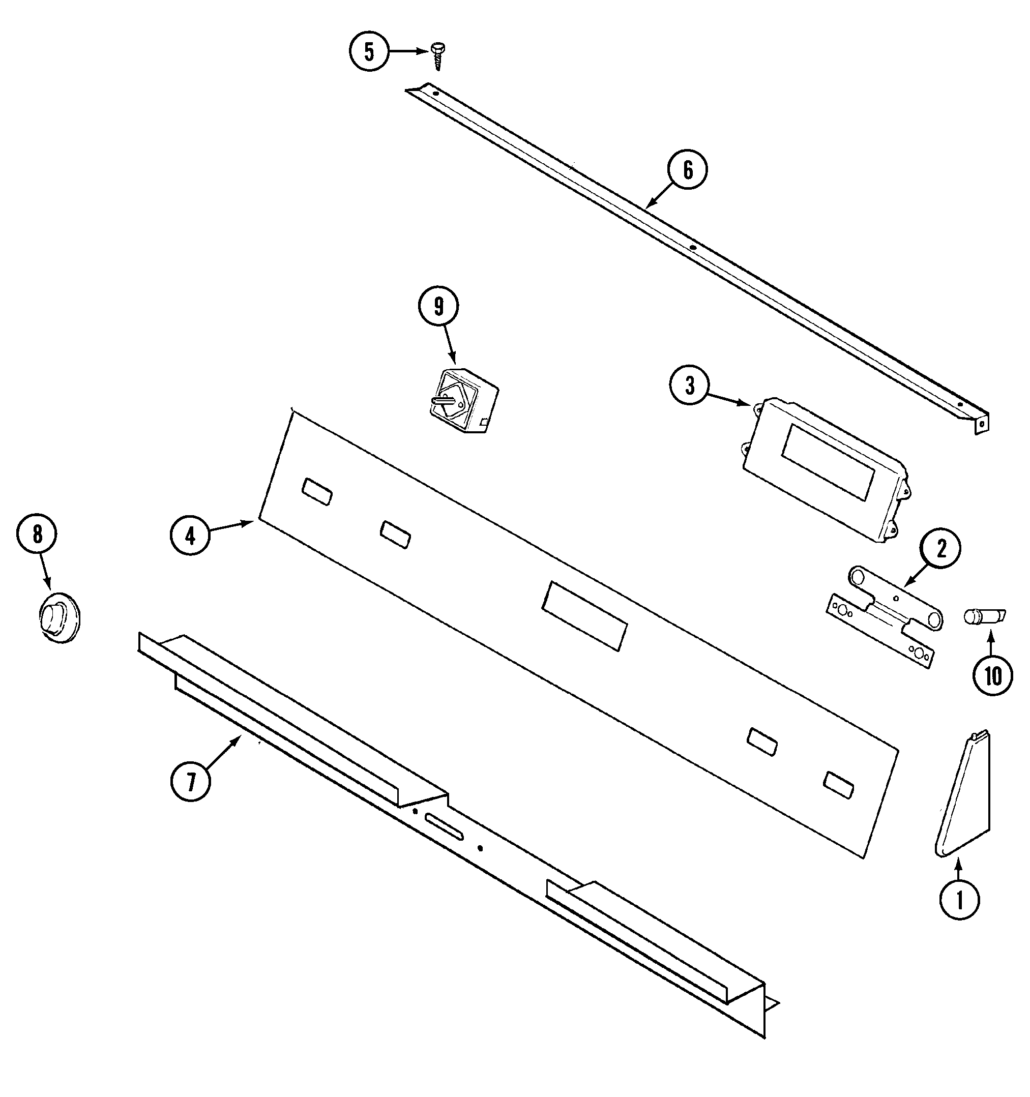 parts of electric stove top