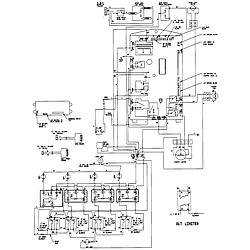 SCE30600B Electric Slide-In Range Wiring information Parts diagram