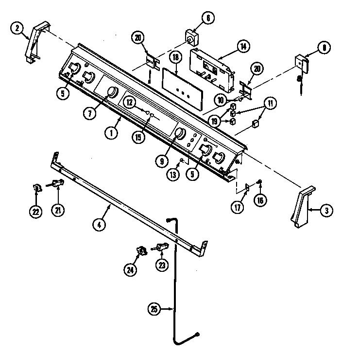 jenn-air seg196 slide-in range timer