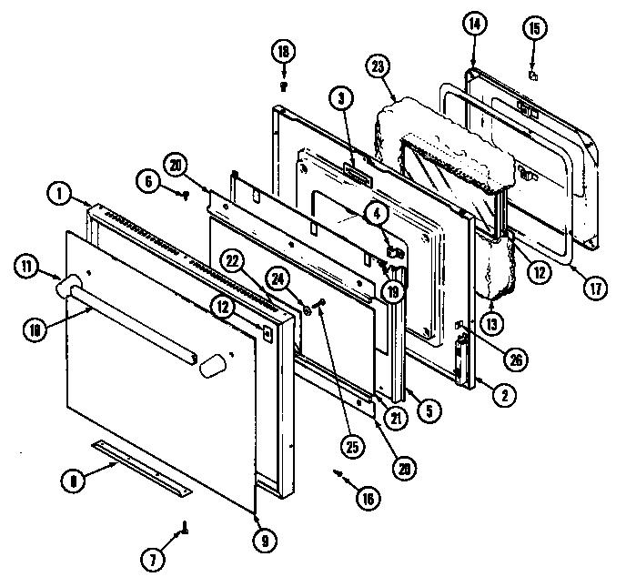 Jenn-Air SEG196 Slide-In Range Timer - Stove Clocks and
