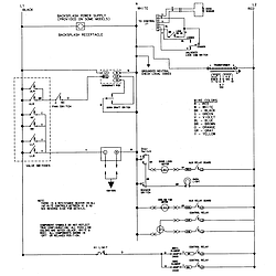 SVD48600P Gas/Electric Slide In Range Wiring information Parts diagram