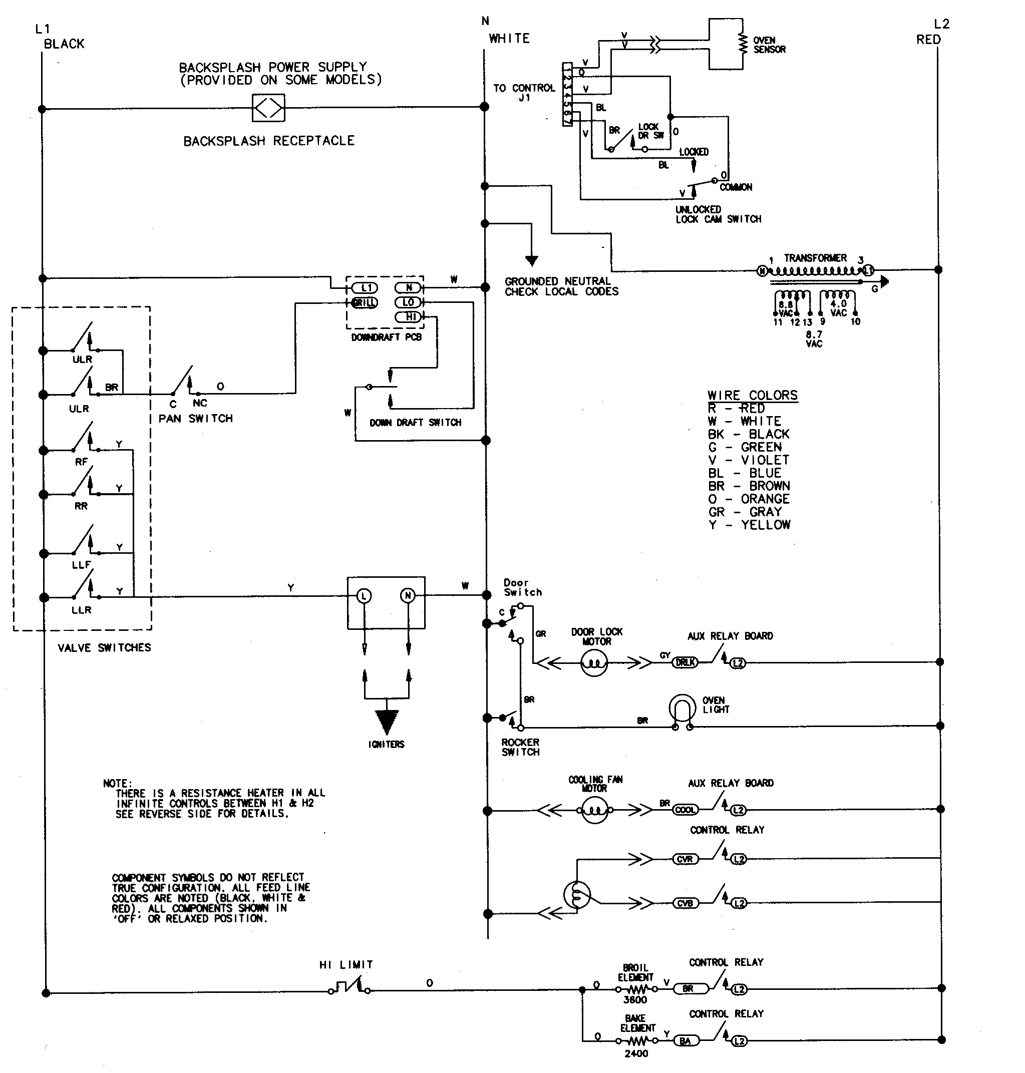 wiring information parts jenn air svd48600p gas electric slide in range timer stove wiring diagram for gas fireplace at edmiracle.co