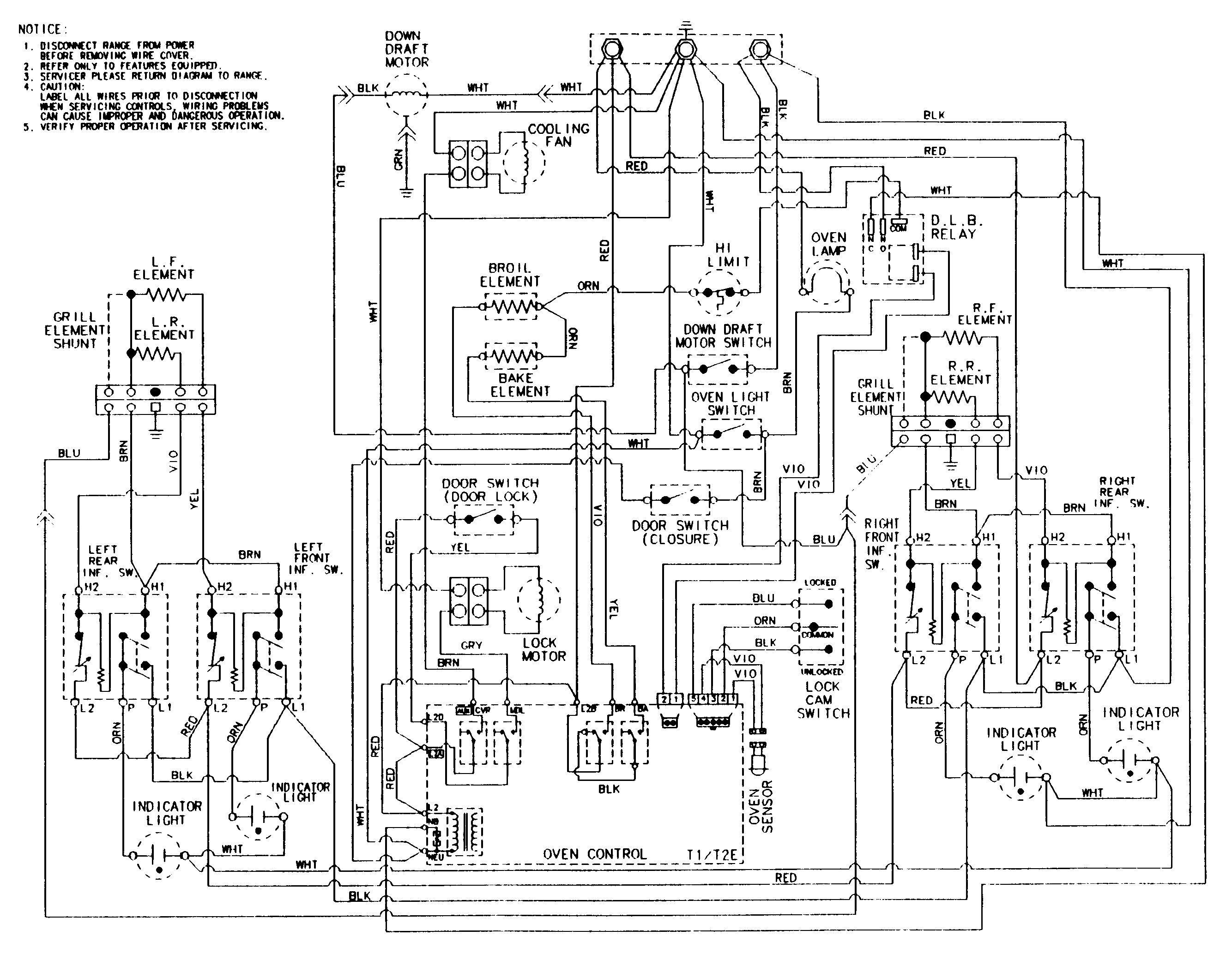 wiring information sve47100bc wc ser 14 parts stove fan and light wiring diagram wiring library
