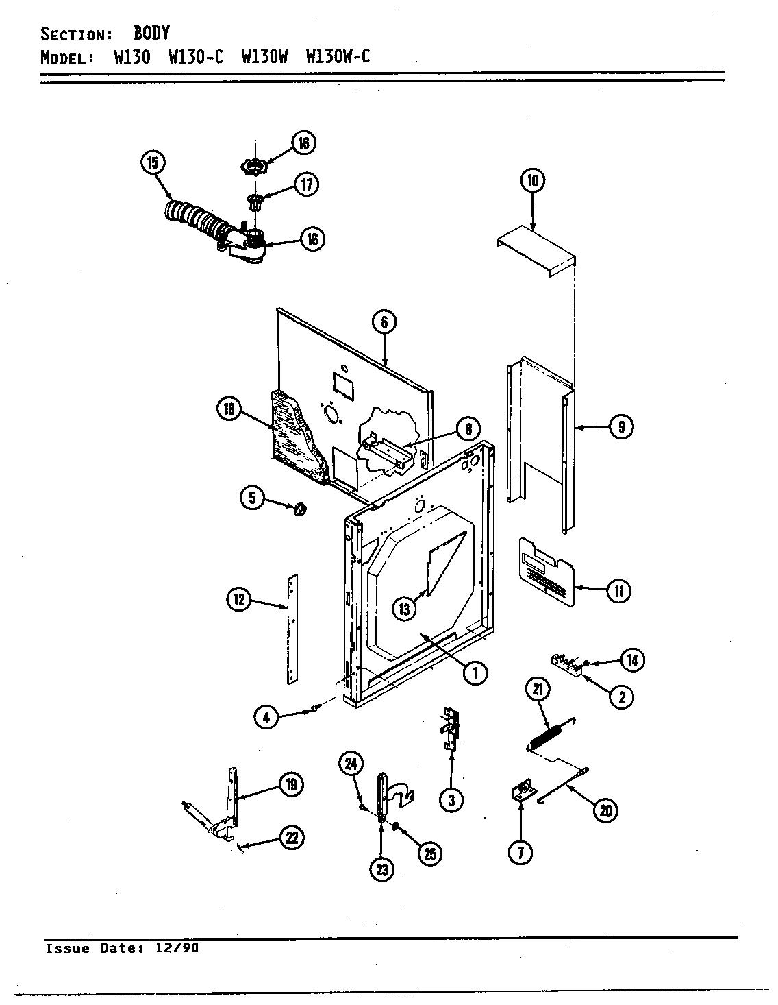 jenn-air w130 wall oven timer