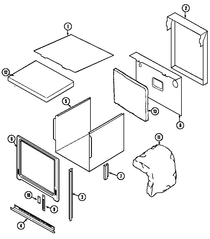 jenn-air w27200b electric wall oven timer