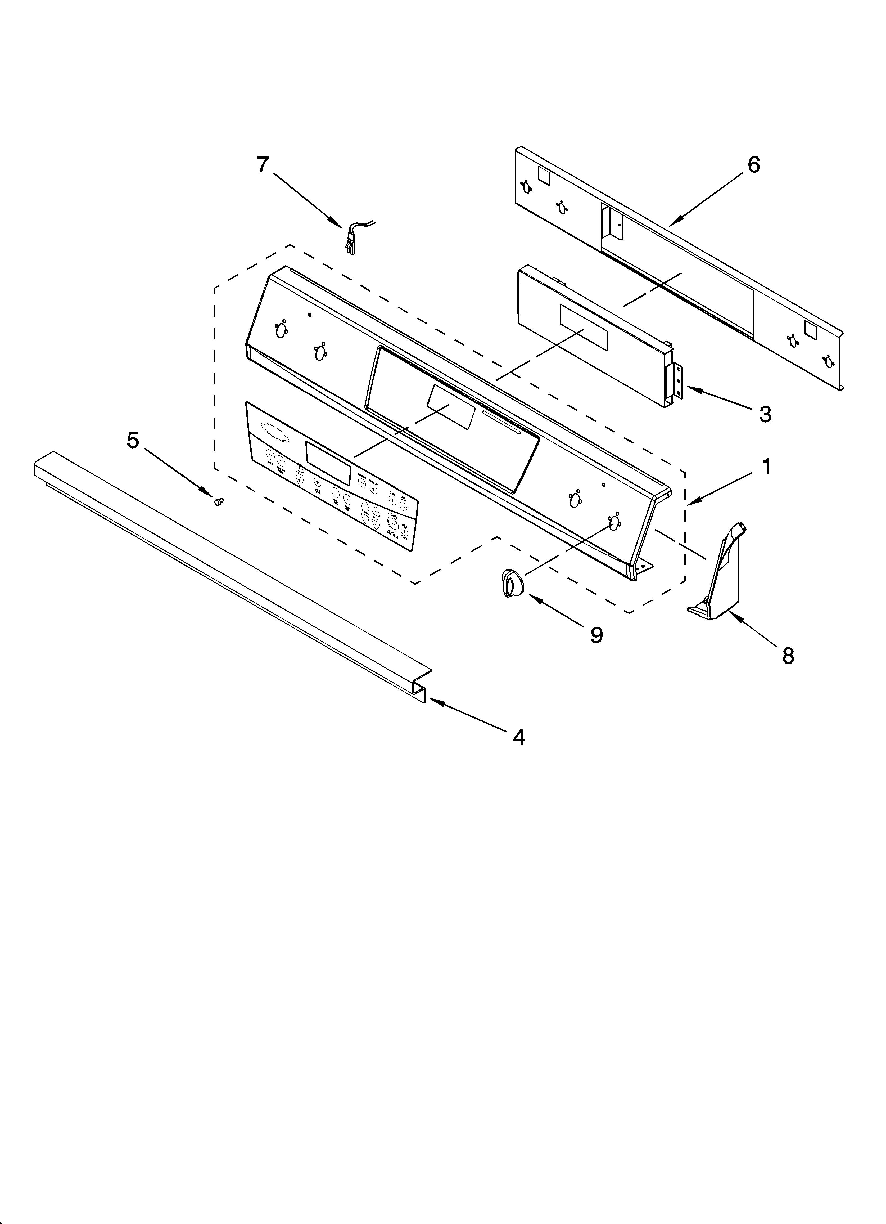 ygy398lxpb00 slide in range electric control panel parts diagram