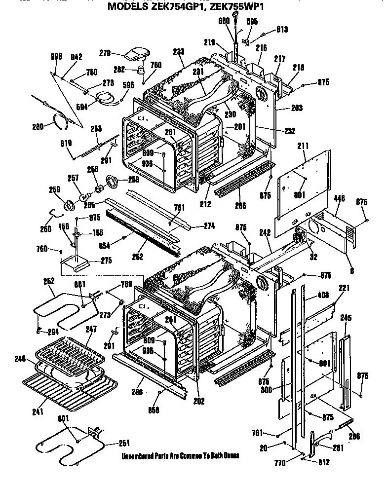General Electric Zek755wp1wg Electric Range Timer