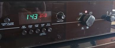 Repaired dacor range timer model w305b-82648